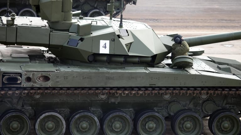 Russia's Armata T-14 Tank: Armed with Deadly Lasers and Railguns?