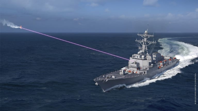 New Destroyer-Fired Laser Weapons Might Stop Hypersonic Missile Attacks