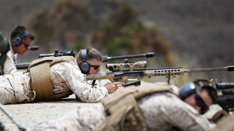 Special Sniper Hot Swamp Training - How to Train to be a Sniper
