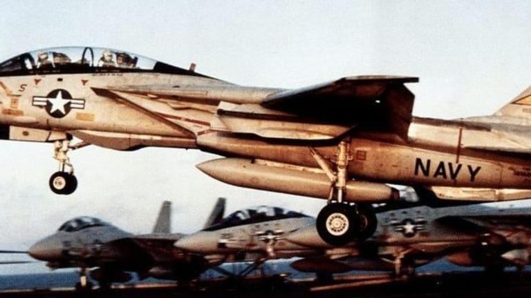 In 1987, U.S. Navy F-14s Engaged Phantom Iranian Planes