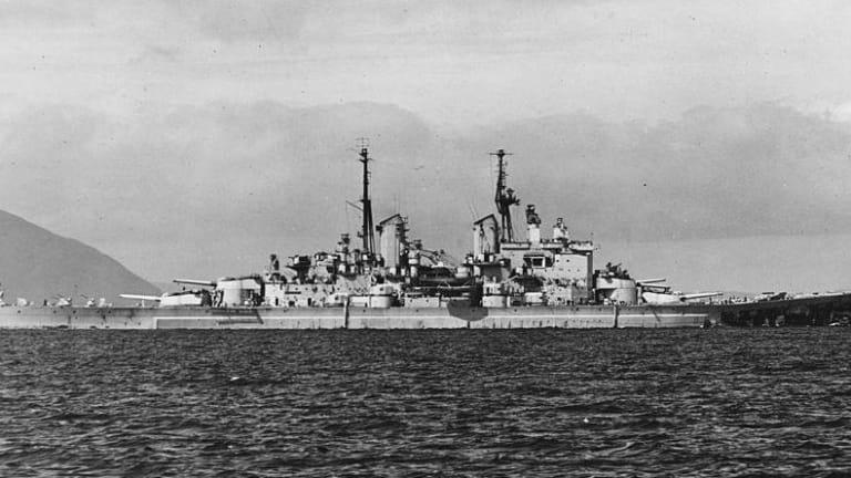 Great Britain's Last Super Battleship Was a True Monster Warship