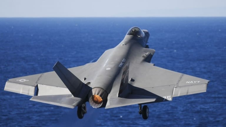 Most Popular 2018-Navy to Send Stealthy, Carrier-Launched F-35C to War in 2021