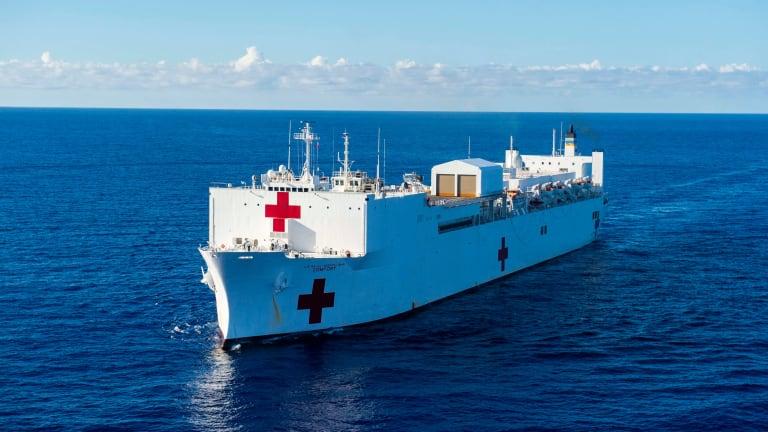 USNS Comfort Commander: Saving Lives Aboard the Ship