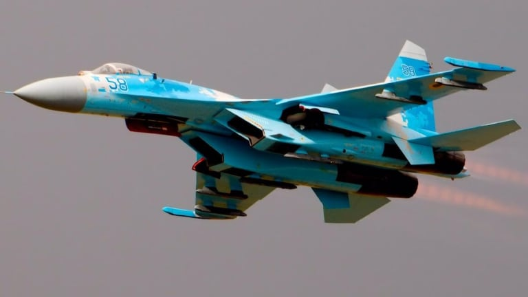 What Happened Between NATO F/A-18 Fighters and Russian Su-27s?