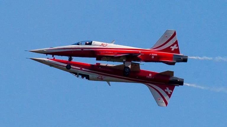 """Why the Affordable F-5E """"Tiger"""" Fighter Jet Is so Popular"""