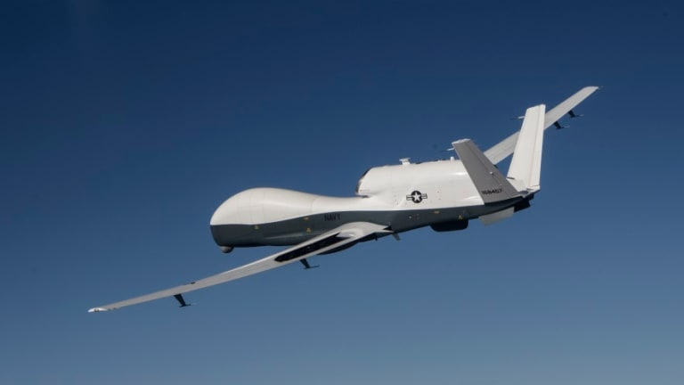 New Navy Ocean Warfare Drones to Pass Targeting Data to Carriers in Pacific