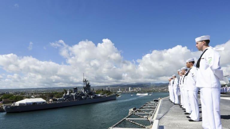 The Navy's Deadly Dream: Merge an Aircraft Carrier and a Battleship