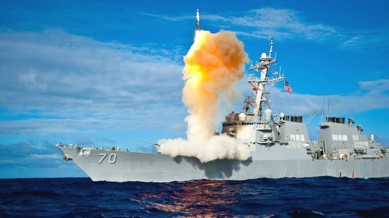 Lasers, AI and Drones Likely to Inform Navy Concept for New 2030 Destroyer