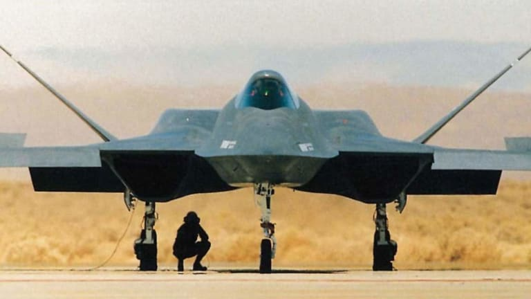 Why the U.S. Air Force Never Built Its YF-23 Stealth Fighter