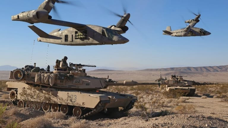 Robot Air Assaults: What War in 2040 Could Look Like?