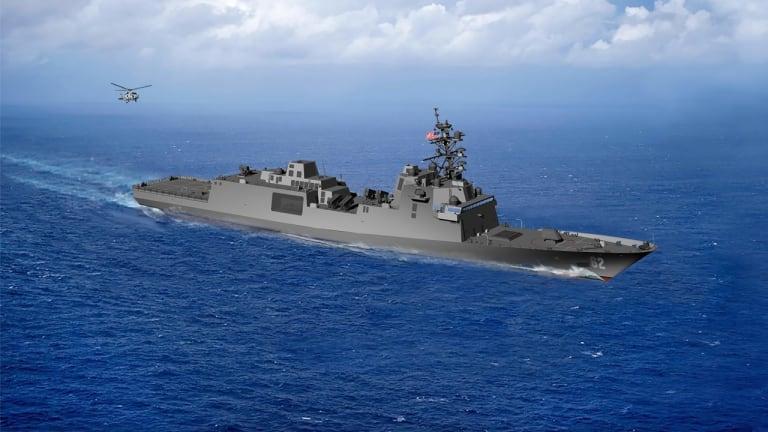 Drones, Sensors & Guns: Constellation-Class Frigates Well Armed for Future War