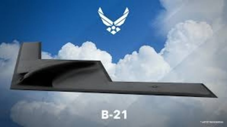 U.S. Air Force Builds First B-21 Raider 'Test' Stealth Bomber