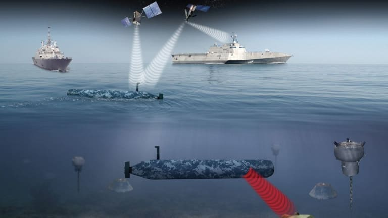 Navy Tests UnderSea Mine-Hunting Drone
