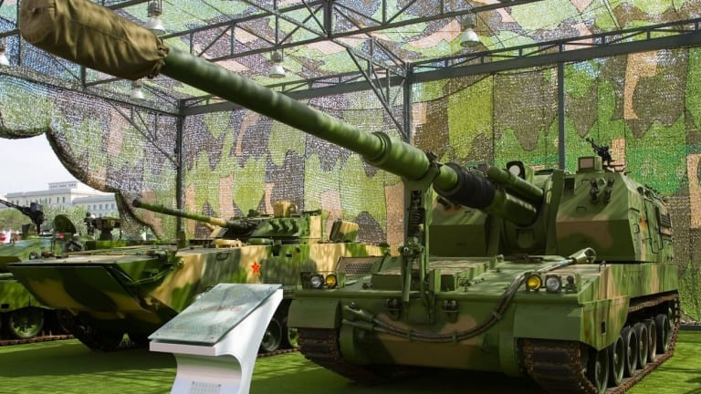 New Chinese Artillery May Not Rival U.S. Weapons