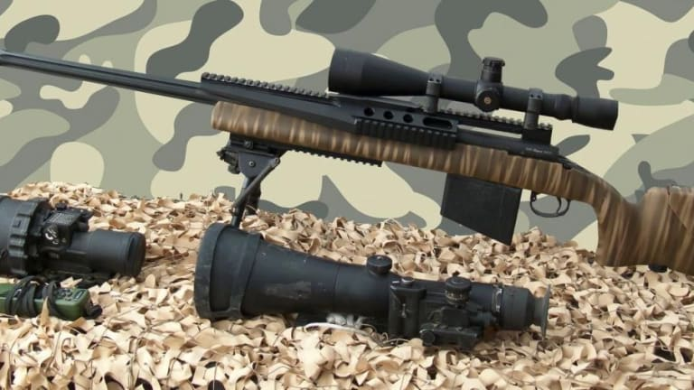 Russia Has Sniper Rifle Bullets That Can Pierce Body Armor
