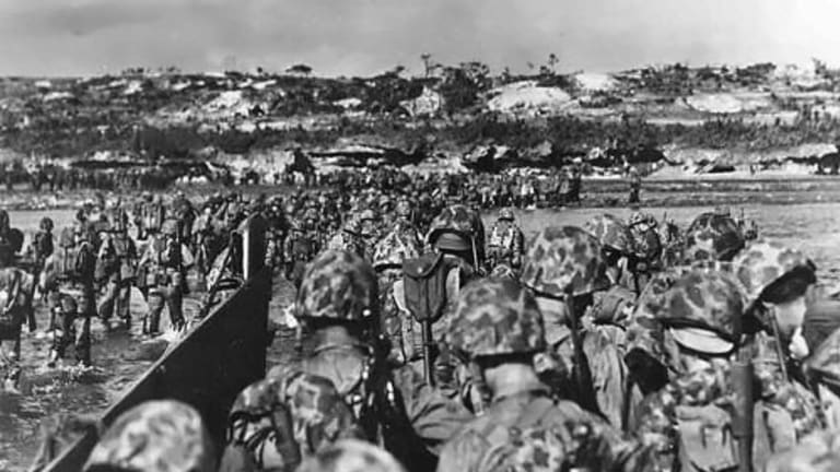 WWII: This Marine Division Never Set Foot in the United States