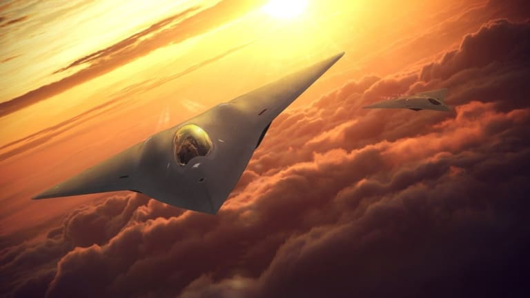 New Air Force 6th Gen Takes Flight to Fly With F-35 Until 2070