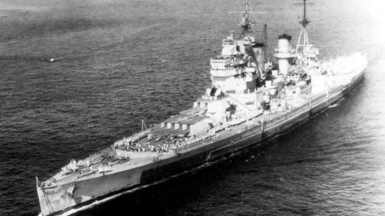 These Were the Biggest and Baddest Battleships of the Royal Navy