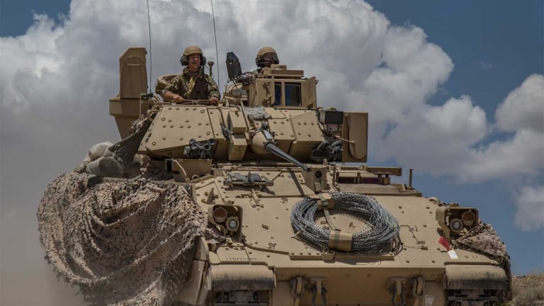 Upgraded Army Bradley Lives On To Fight Future Wars With New Vehicles