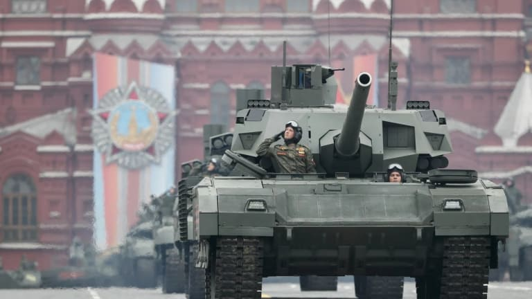 Russia Builds Unmanned T-14 Armata Drone Tank