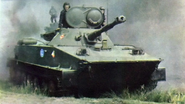 The PT-76 Was the Little Soviet Amphibious Tank That Could