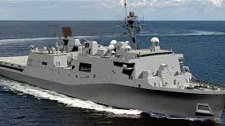 Navy Wants to Speed Up New LXR Amphib