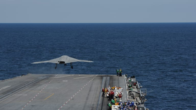 Navy Debates Future of Carrier Drone