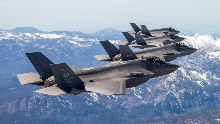 U.S. Air Force Tests F-35 Swarm Attacks