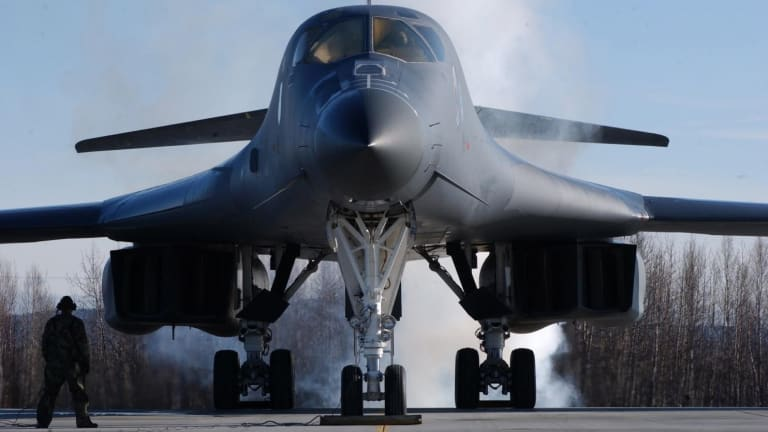 How the B-1 Bomber Could Sink an Aircraft Carrier