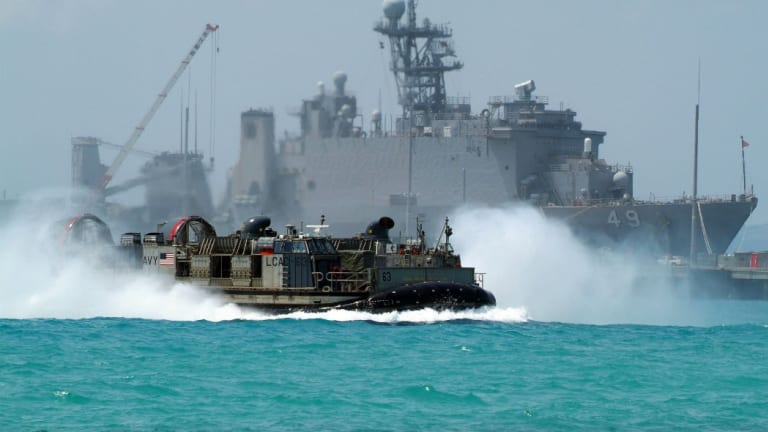 New Navy Ship-to-Shore Connector Hits the Water - Changes Amphibious Warfare
