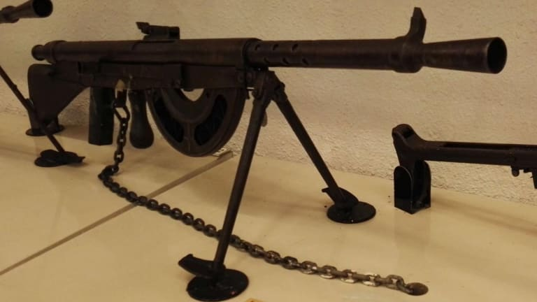 The Worst Machine Gun Ever Made