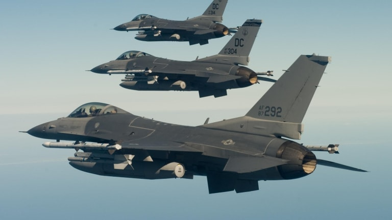 Air Force F-16 Gets F-35 Sensors, Weapons & Radar