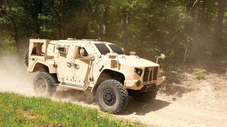 Army Tests: JLTV Can Fight Behind Enemy Lines