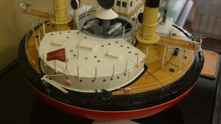 Imperial Russia's Navy Had A Weird Saucer-Looking Warship