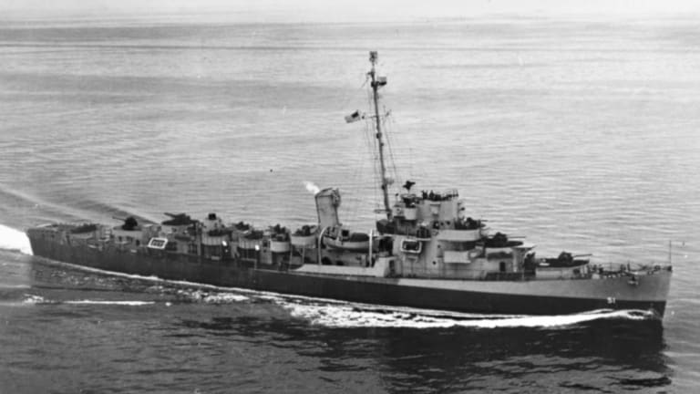This Escort Destroyer Sunk 6 Imperial Japanese Submarines