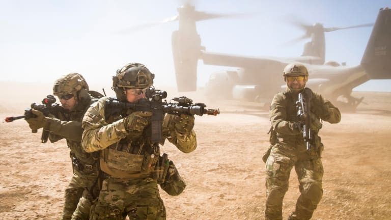 Air Force Special Ops Prepares for Massive, Great Power War