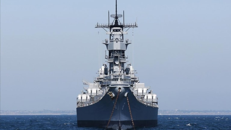 What Happens When the Navy Merges a Battleship and Aircraft Carrier?