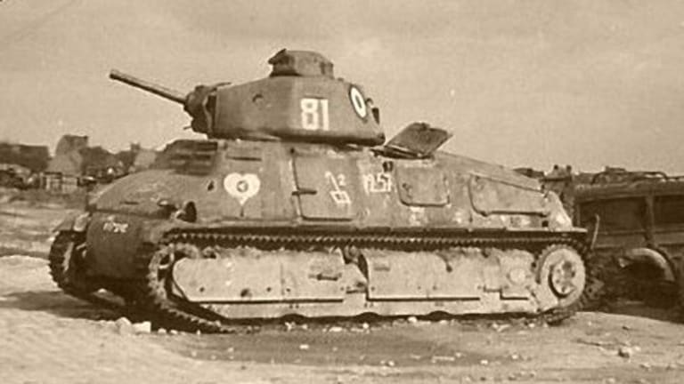 The French S35 Was a Good Tank Wasted by Bad Generals