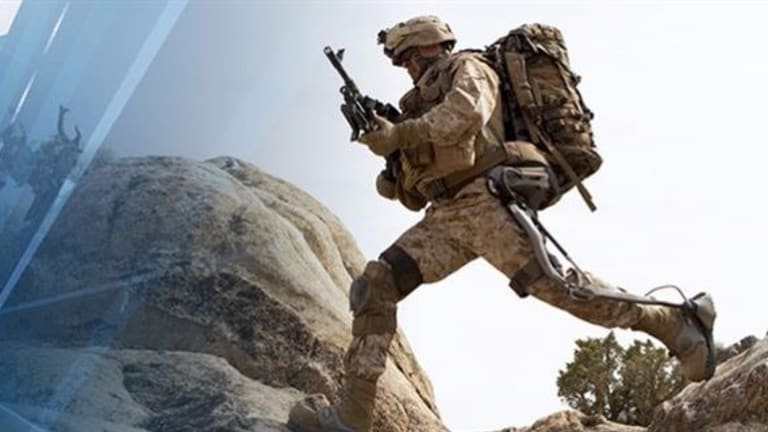 Army Tests New Super-Soldier Exoskeleton