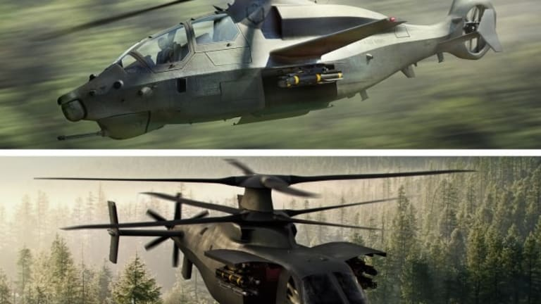 """Army Flies New Recon & """"Hit & Run"""" Superfast Scout Helos"""