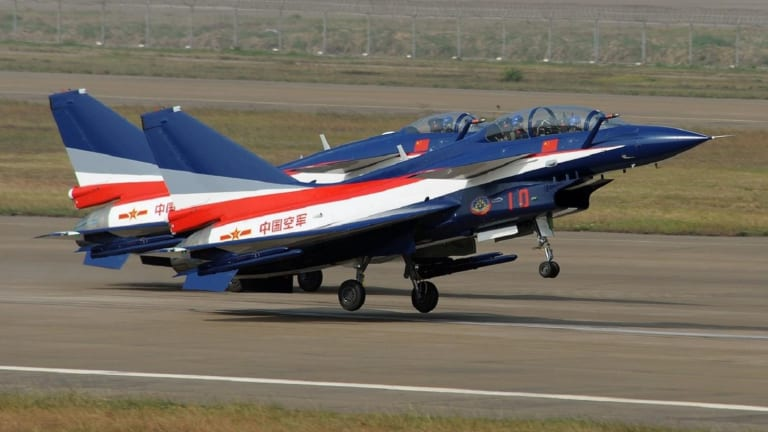 The Chinese Air Force's Greatest Foe Isn't America