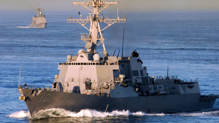 Navy to Add 2 New Destroyers Per Year For 5 Years