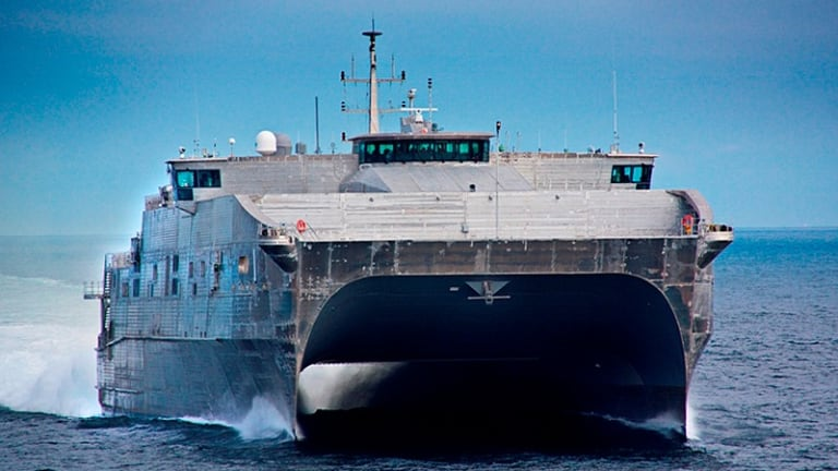 Navy Builds Expeditionary Fast Transport Ships To Move Tanks, Weapons and Troops