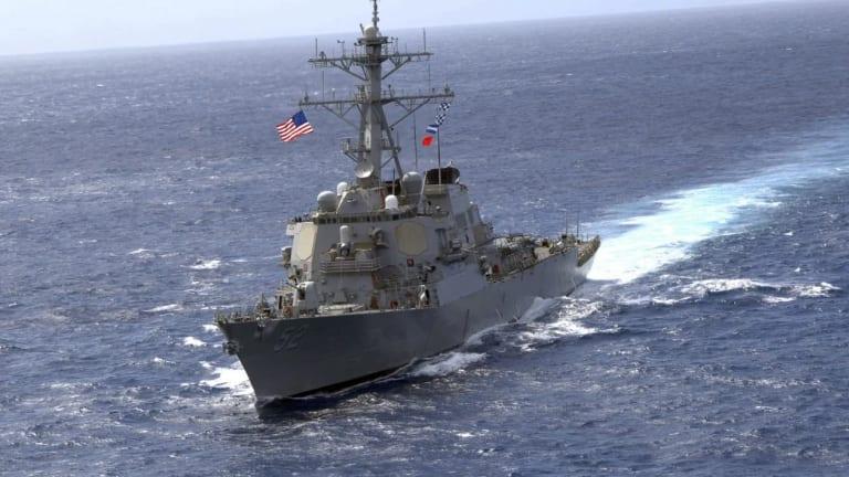 China Accuses U.S. of South China Sea Intrusion - Tracks U.S. Ship