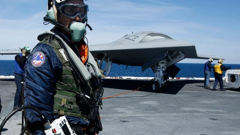 Navy to Add More Carrier-Launched Attack Drones