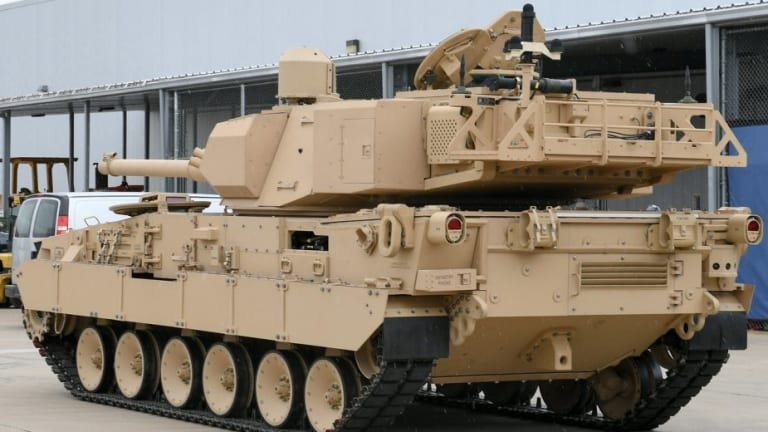 """Army to Fire Weapons at New """"Light Tank"""" Prototypes"""