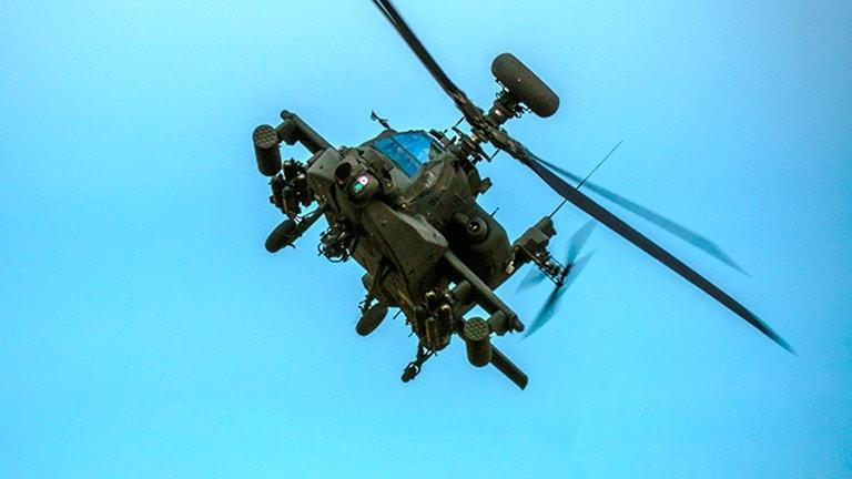 Elite Drone & Attack Helicopter Task Force Still Hunts Taliban in Afghanistan