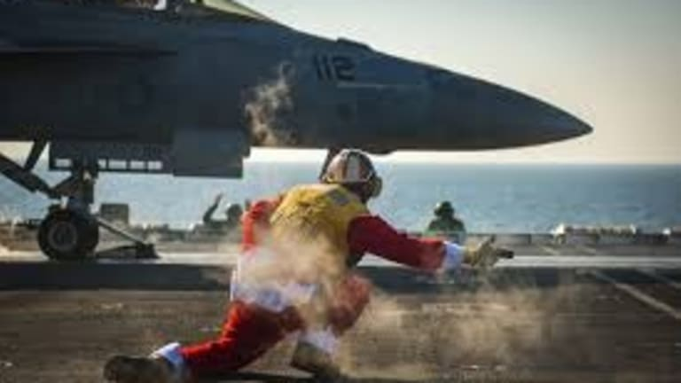 VIDEO: See the Choreography of a Carrier Launch