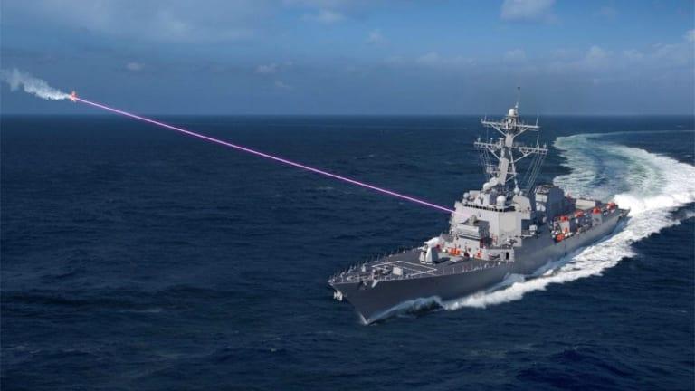 New Navy Destroyer-Fired Laser Will Change Maritime War