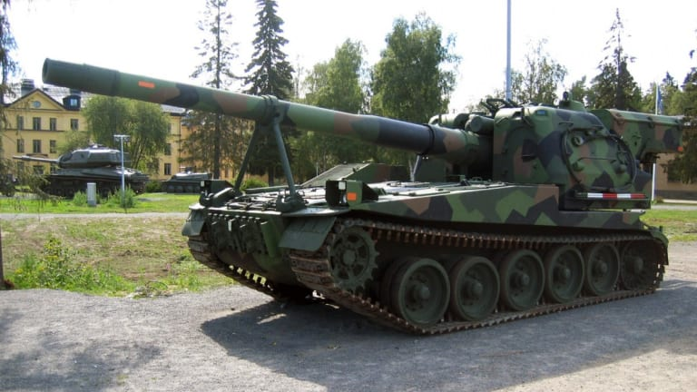 Sweden Had 'Big Gun' Artillery That Fired 15 Shells within 45 Seconds